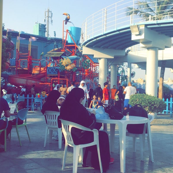 Photo taken at Water Park by Ayat H. on 7/5/2017