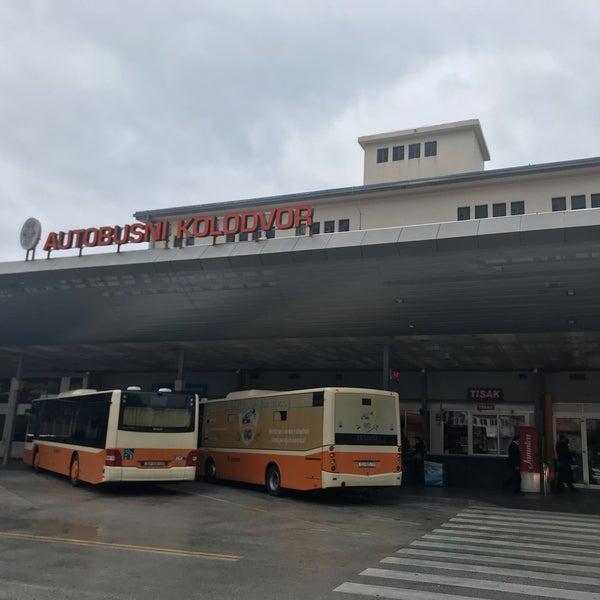 Photo taken at Autobusni Kolodvor Dubrovnik | Dubrovnik Bus Station by Riel ㅤ. on 1/10/2018