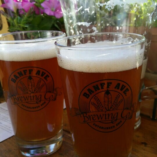Photo taken at Banff Avenue Brewing Co. by Ted P. on 7/16/2015