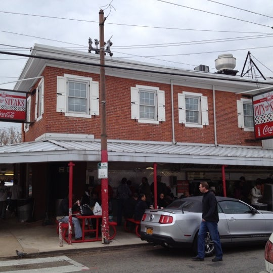 Photo taken at Pat's King of Steaks by Peter K. on 11/10/2012