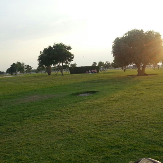 Photo taken at Aspire Park by Ali H I. on 11/3/2012