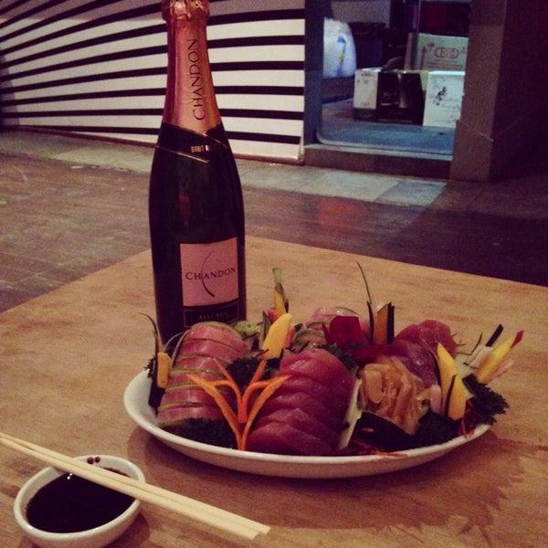 O melhor japa do Centro com uma Chandon Rosé geladinha pra acompanhar!!