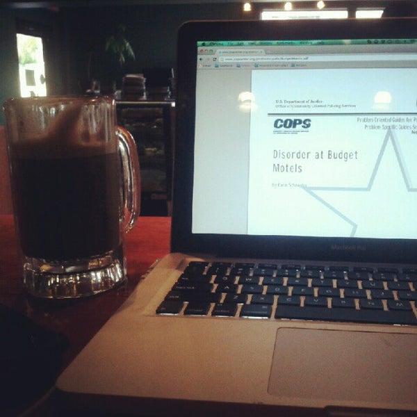 Photo taken at Bennu Coffee by Stephanie F. on 11/26/2012
