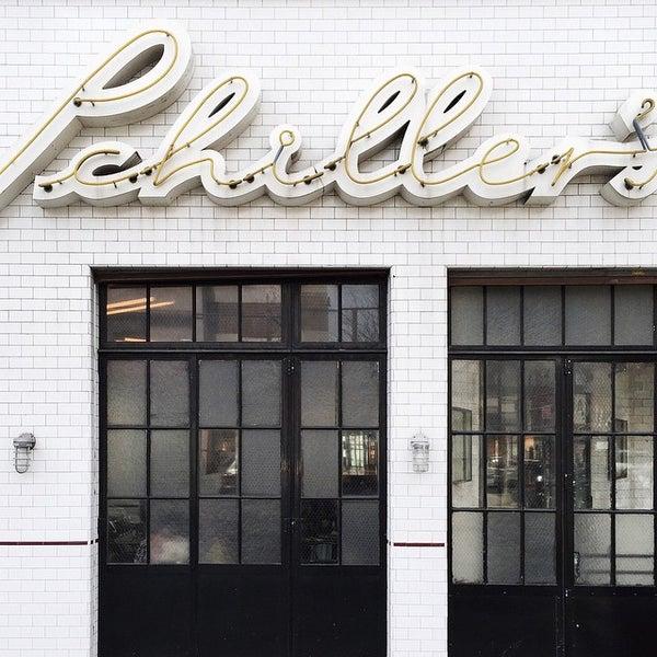 Photo taken at Schiller's Liquor Bar by James C. on 4/8/2015