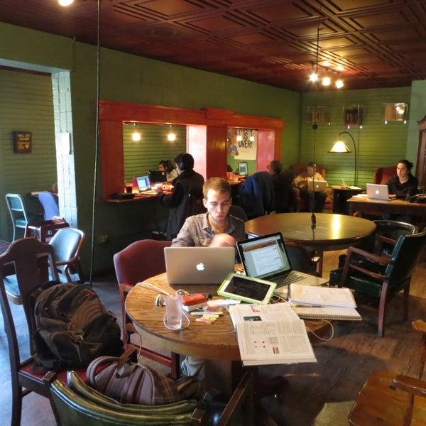 Photo taken at Bennu Coffee by Chris on 2/9/2013