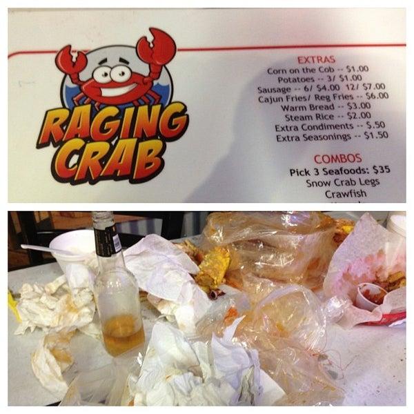 Photo taken at Raging Crab by Garrett Y. on 9/1/2013