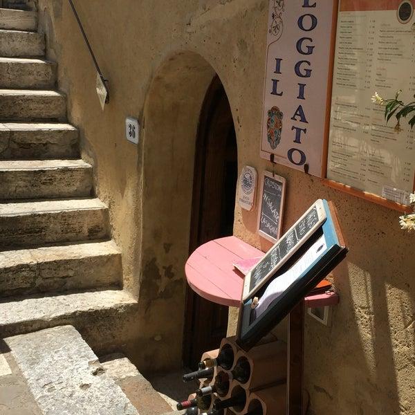 Il loggiato italian restaurant in bagno vignoni - Il loggiato bagno vignoni ...