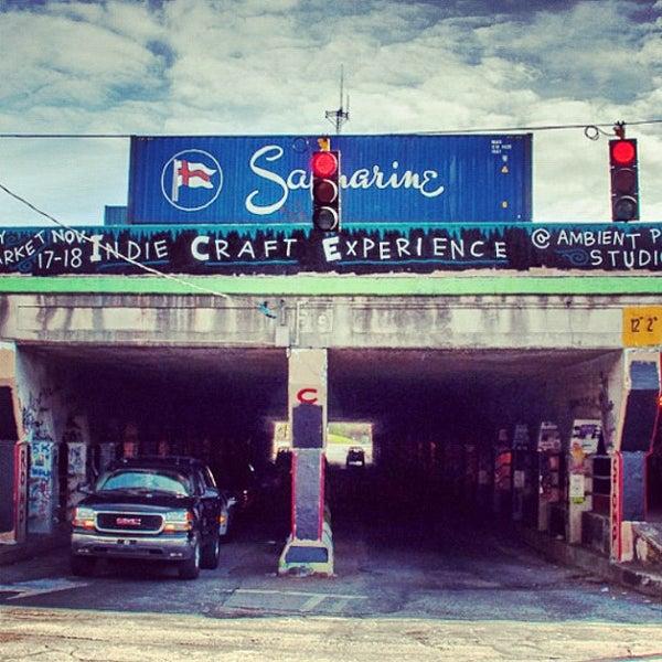 Photo taken at Krog Street Tunnel by John M. on 11/18/2012