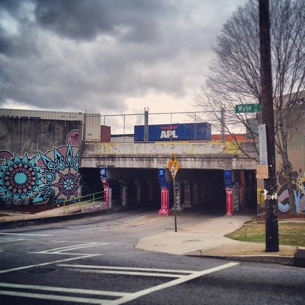Photo taken at Krog Street Tunnel by John M. on 3/2/2013
