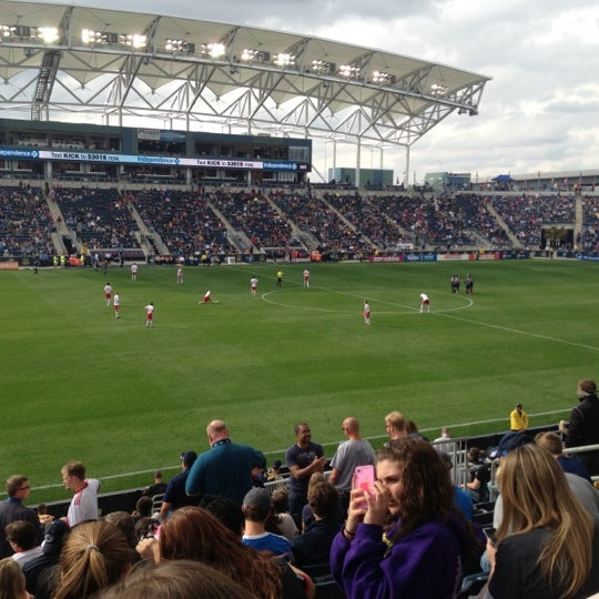 Photo taken at Talen Energy Stadium by Chris T. on 10/27/2012