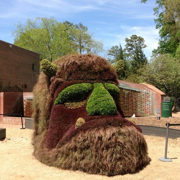 Photo taken at Atlanta Botanical Garden by Logan H. on 4/13/2013