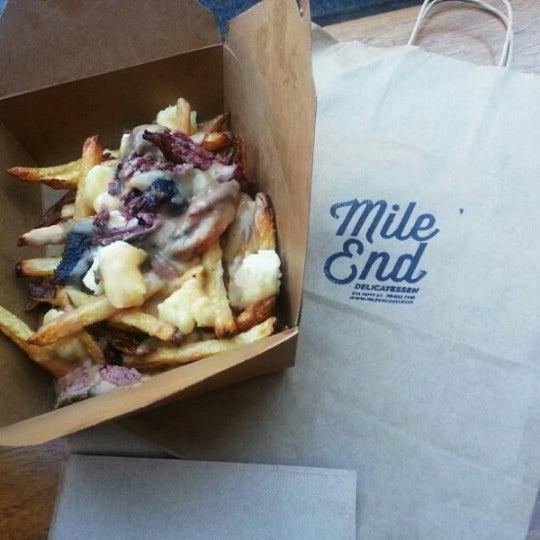Photo taken at Mile End Delicatessen by Steff E. on 9/23/2012