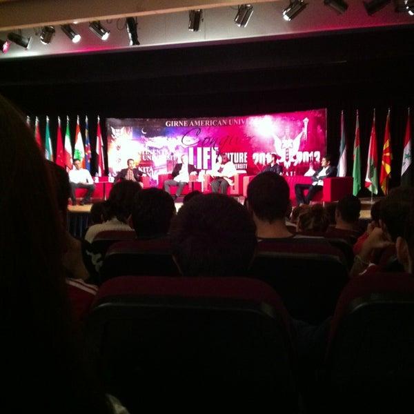 Снимок сделан в Girne American University пользователем Volkan T. 12/28/2012