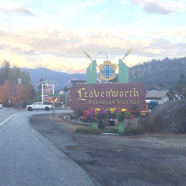 Photo taken at Town of Leavenworth by Samantha S. on 10/6/2016