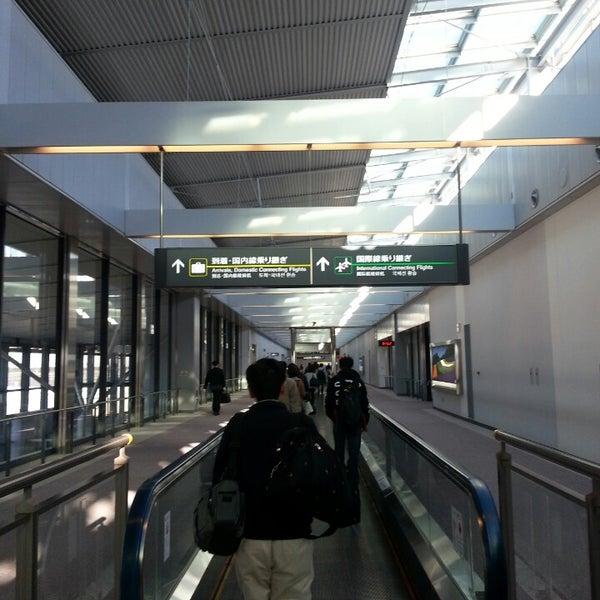 Photo taken at Narita International Airport (NRT) by Ahmed S. on 11/12/2013
