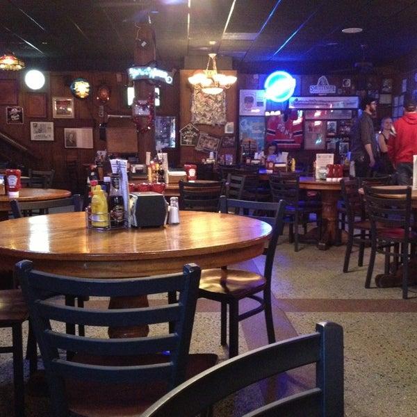 Photo taken at Manuel's Tavern by Lee C. on 1/17/2013