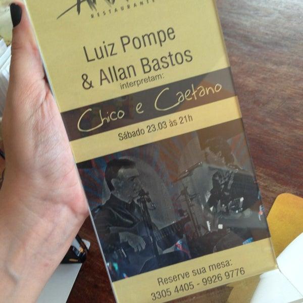 Foto tirada no(a) Anamá Restaurante por Maíra M. em 3/15/2013