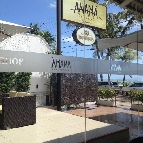 Foto tirada no(a) Anamá Restaurante por Maíra M. em 1/4/2013