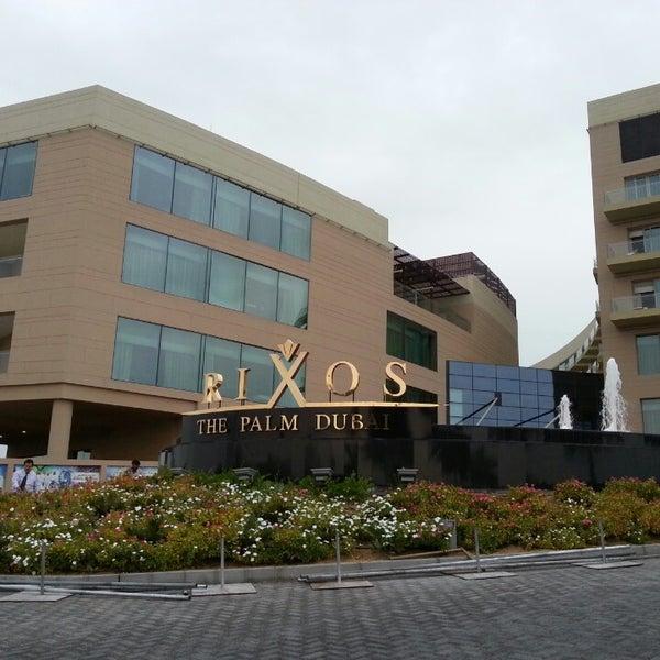 3/25/2013 tarihinde LaSh00ziyaretçi tarafından Rixos The Palm Dubai'de çekilen fotoğraf