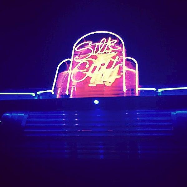 Photo taken at Silk City Diner Bar & Lounge by Brandon G. on 7/12/2013