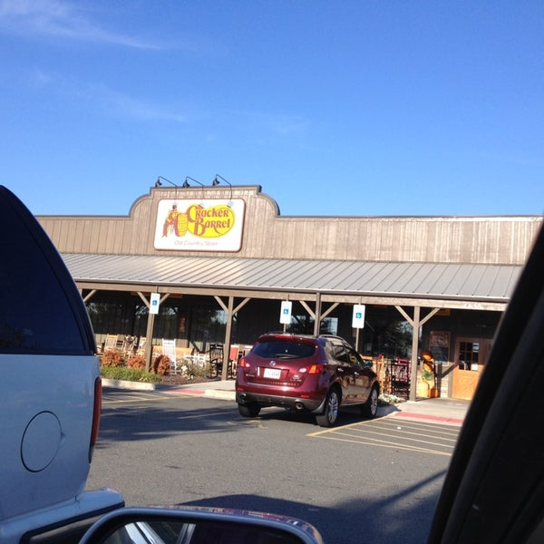 Photo taken at Cracker Barrel Old Country Store by Jaye W. on 10/27/2013