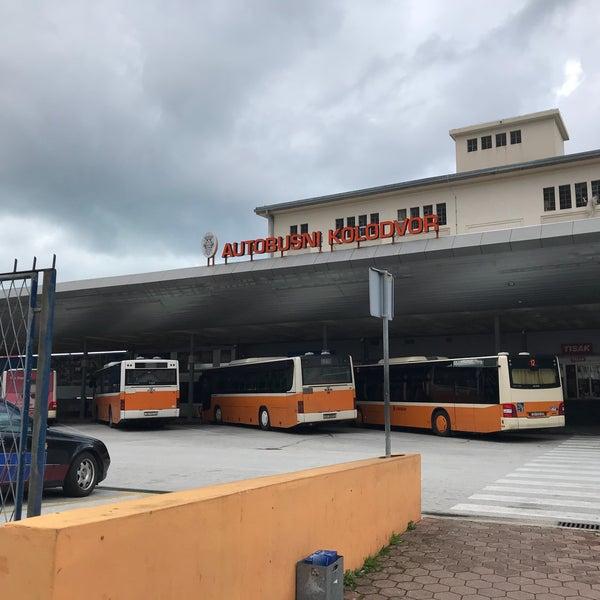Photo taken at Autobusni Kolodvor Dubrovnik | Dubrovnik Bus Station by ふらは f. on 3/21/2018