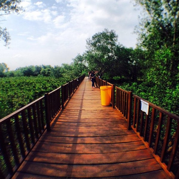 Photo taken at Ekowisata Mangrove by F R. on 8/20/2015
