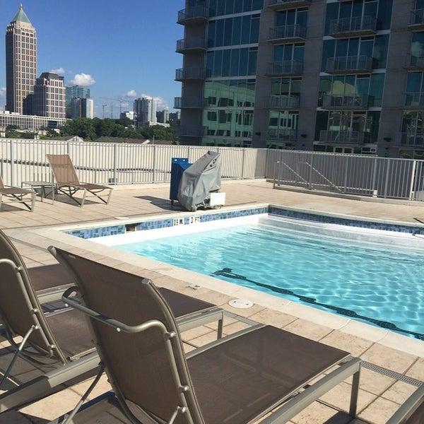 pool at twelve atlantic station atlantic station 1 tip. Black Bedroom Furniture Sets. Home Design Ideas