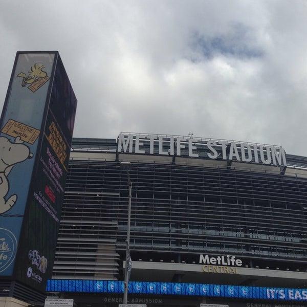 Photo taken at MetLife Stadium by Rob H. on 10/13/2013