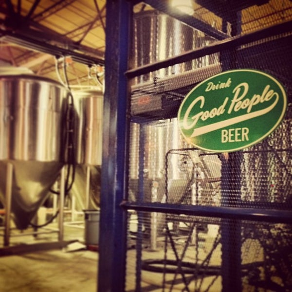 Photo taken at Good People Brewing Company by Walkerscoop on 6/1/2013