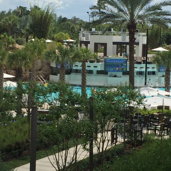 Photo taken at Marriott World Center Pool by Olga K. on 4/25/2016