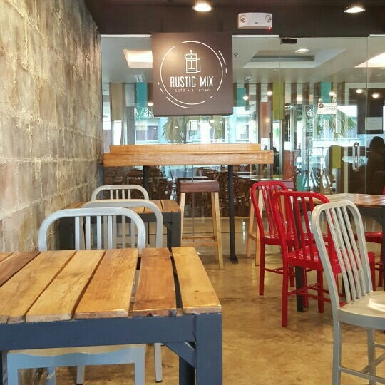 photo taken at rustic mix cafe kitchen by abrea t on 214