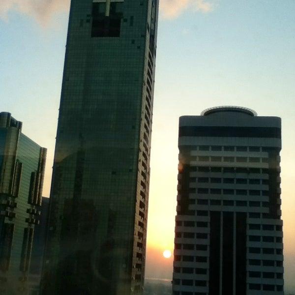 Photo taken at Towers Rotana Hotel by YumiYumi on 1/5/2013