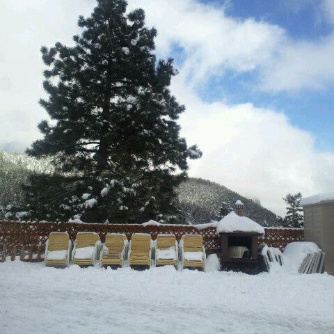Photo taken at Mt Charleston Lodge by Tracey F. on 12/15/2012