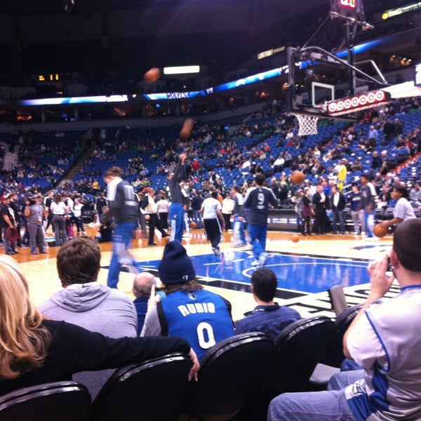 Photo taken at Target Center by Chris F. on 1/24/2013