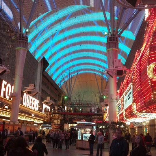 Photo taken at Fremont Street Experience by Mark M. on 11/14/2012