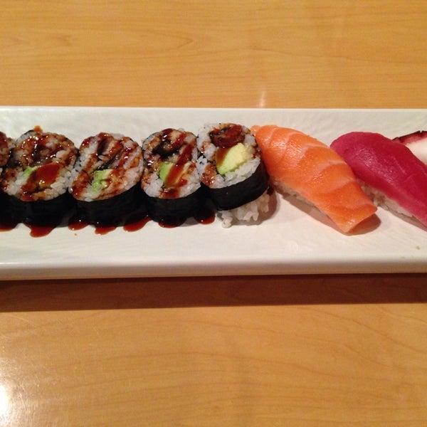 Photo taken at Oishi Sushi by Denise M. on 3/22/2014