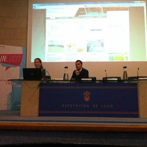 Foto tirada no(a) Deputación de Lugo por Ramon P. em 6/8/2013