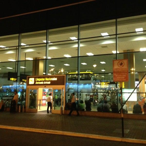Photo taken at Jorge Chávez International Airport (LIM) by Miguel P. on 3/13/2013