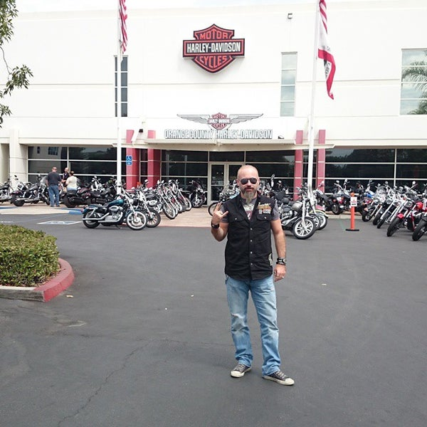 Photo taken at Orange County Harley-Davidson by Anıl Ö. on 9/8/2014