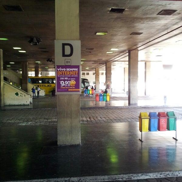 Photo taken at Terminal Rodoviário Governador Israel Pinheiro by Ederson L. on 5/15/2013