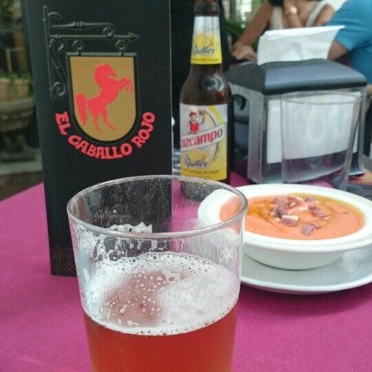 Photo taken at Restaurante El Caballo Rojo by Sergio G. on 8/7/2016