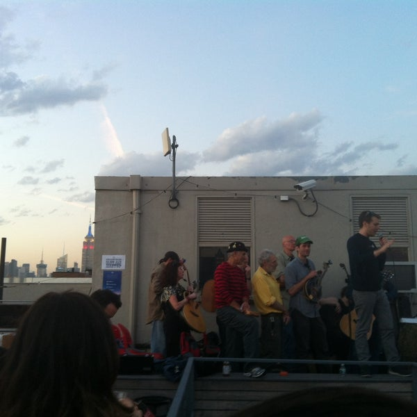 Photo taken at Meetup HQ Roof Deck by Natasha P. on 5/17/2013