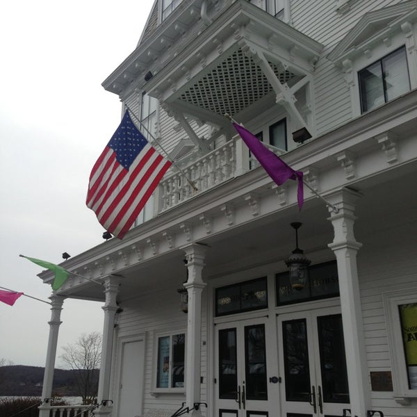 Photo taken at Goodspeed Opera House by Sean D. on 1/21/2013