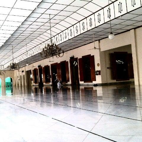 Photo taken at Masjid Jami' Kauman Pekalongan by senopati D. on 1/11/2013