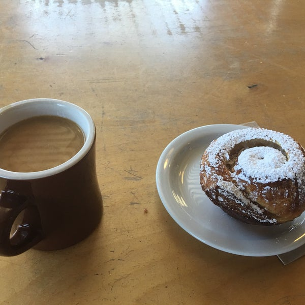 Photo taken at Crema Bakery and Cafe by Nate A. on 6/4/2016