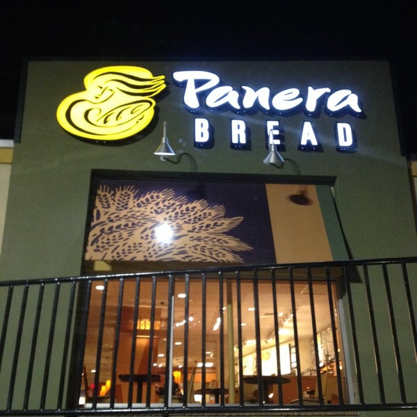 Photo taken at Panera Bread by Javid G. on 3/6/2014