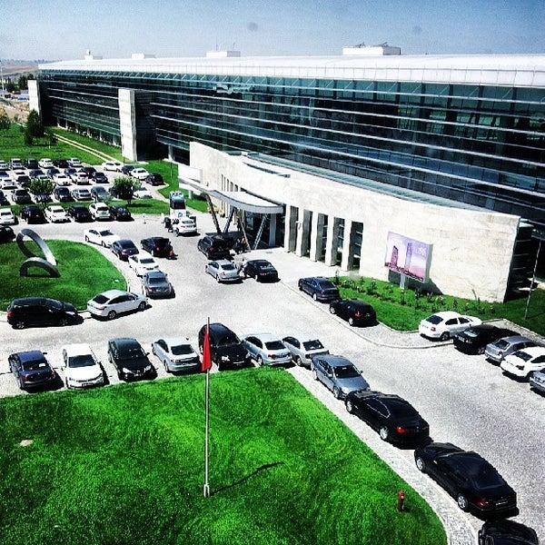 Photo taken at Ankara Esenboğa Airport (ESB) by Selim A. on 6/27/2013