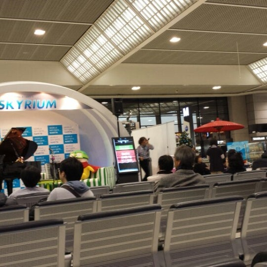 Photo taken at International Departure Lobby by Saito T. on 12/12/2013