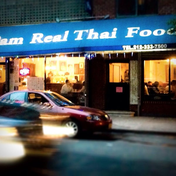 Photo taken at Pam Real Thai by Tim Y. on 6/12/2014